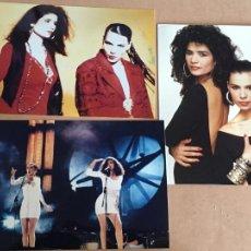Foto di Cantanti: AZUCAR MORENO FOTOS ORIGINALES ANTIGUAS DE LA DISCOGRAFICA AÑOS 80-90. Lote 246983830