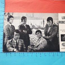 Photos de Chanteurs et Chanteuses: LOS ROBERTS - EXCLUSIVAMENTE EN DISCOS REGAL - LEMI // ( NOV2021CONF). Lote 252454665