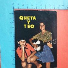 Photos de Chanteurs et Chanteuses: QUETA Y TEO // ( NOV2021CONF). Lote 252464260
