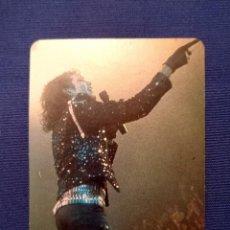 Photos de Chanteurs et Chanteuses: ANTIGUA TARJETA PROMO GIRA BAD MICHAEL JACKSON 1988. Lote 252723845