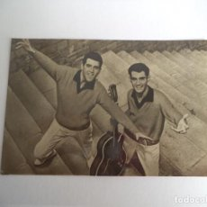 Fotos de Cantantes: TARGETA POSTAL DUO DINÁMICO.. Lote 254784040