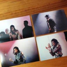 Fotos de Cantantes: FOTOGRAFÍAS MICHAEL JACKSON. Lote 254804085