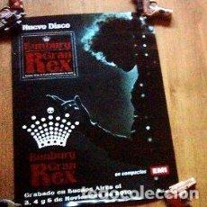 Fotos de Cantantes: POSTER PROMO BUNBURY HEROES DEL SILENCIO GRAN REX 2010 35X50. Lote 255123260