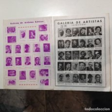 Fotos de Cantantes: GALERÍA DE ARTISTAS LÍRICOS.AÑOS 20'S / 30'S. JOSÉ SANTPERE,FEDERICO CABALLÉ,EMILI VENDRELL.. Lote 262381505