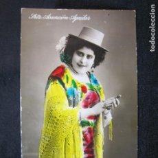 Fotos de Cantantes: SRTA ASUNCION AGUILAR-POSTAL ANTIGUA-VER FOTOS-(80.597). Lote 262632875