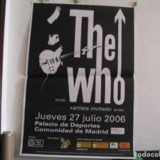 Photos de Chanteurs et Chanteuses: THE WHO CARTEL ORIGINAL TOUR GIRA 2006 MADRID 130X90. Lote 269101948