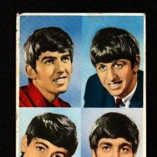 Fotos de Cantantes: LOS BEATLES: POSTAL ESPAÑA ANTIGUA DE 1965 -MUY RARA DE VER ESCRITA POR DETRAS-OPORTUNIDAD. Lote 269402893