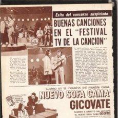 Fotos de Cantantes: LOS BULLDOGS: URUGUAY POP ROCK -SHAKERS- BEATLES-CONJUNTO DE LOS 60'S NOTA CLIP ORIGINAL-COLECCIONIS. Lote 269457353