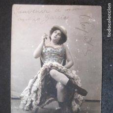 Fotos de Cantantes: BELLA CLEOPATRA-FOTO FIALDRO-FOTOGRAFICA-REVERSO SIN DIVIDIR-POSTAL ANTIGUA-(81.902). Lote 270635713