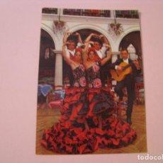 Fotos de Cantores: POSTAL BALLET LOS FLAMENCOS. NIGHT CLUB EL RELICARIO. LLORET DE MAR. FIRMADA. 1967.. Lote 272979208