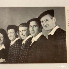Fotos de Cantantes: ANTIGUA POSTAL BELTER. LOS CONTRAPUNTPOS. IMPECABLE. Lote 273086978