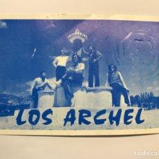 Fotos de Cantantes: LOS ARCHEL POSTAL PUBLICITARIA. CUANDO LOS JÓVENES DE LA SERRANÍA BAILABAN.. CHELVA.. (H.1960?). Lote 274935478
