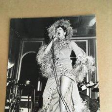 Photos de Chanteurs et Chanteuses: JOSEPHINE BAKER FOTO ORIGINAL ANTIGUA. Lote 275713833