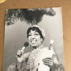 Photos de Chanteurs et Chanteuses: JOSEPHINE BAKER FOTO ORIGINAL ANTIGUA. Lote 275713868
