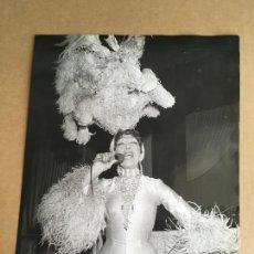 Photos de Chanteurs et Chanteuses: JOSEPHINE BAKER FOTO ORIGINAL ANTIGUA. Lote 275713888