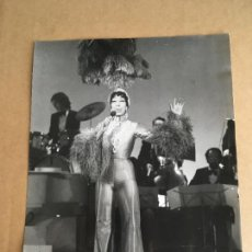 Photos de Chanteurs et Chanteuses: JOSEPHINE BAKER FOTO ORIGINAL ANTIGUA. Lote 275713938