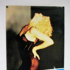 Fotos de Cantantes: MADONNA. HISTÓRICO CARTEL ORIGINAL PROMOCIONAL DE PEPSI DEL AÑO 1989.. Lote 275954423
