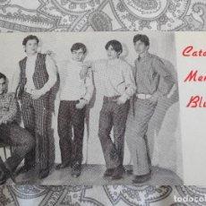 Fotos de Cantantes: ANTIGUA TARJETA GRUPO MUSICAL CATA MENS BLUES. AÑOS 60.. Lote 277636728