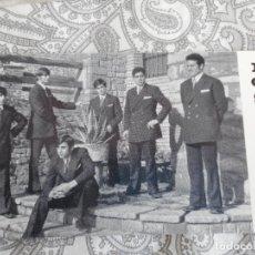 Fotos de Cantantes: ANTIGUA TARJETA.GRUPO MUSICAL LOS JAMER'S.LOS JAMERS.NAVARRA.GRACY AGENCIA ESPECTACULOS.1970. Lote 277637328