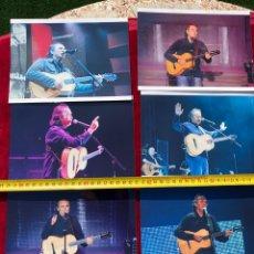 Fotos de Cantantes: 6 FOTOS INÉDITAS JOAN MANUEL SERRAT 2007, TAMAÑO 20X15, REALIZADAS POR MI, VER FOTOS 3,33 ENVÍO CERT. Lote 278796548