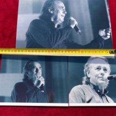 Fotos de Cantantes: 3 FOTOS INÉDITAS JOAN MANUEL SERRAT 2007, REALIZADAS POR MI, VER FOTOS 3,33 ENVÍO CERT. Lote 278796733