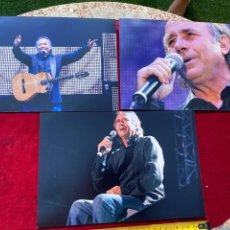Fotos de Cantantes: 3 FOTOS INÉDITAS JOAN MANUEL SERRAT 2007, TAMAÑO 20X15, REALIZADAS POR MI, VER FOTOS 3,33 ENVÍO CERT. Lote 278796958
