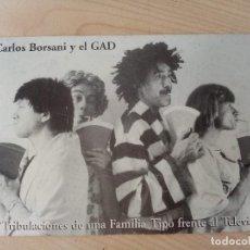 Foto di Cantanti: CARLOS BORSANI Y EL GAD FOTO PEDRO RINCÓN AÑOS 80 MOVIDA MADRILEÑA. Lote 280808508