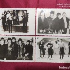 Fotos de Cantantes: LOTE DE 4 FOTO POSTALES DE THE ROLLING STONES. AÑO 63-64. VER FOTOS ADICIONALES. Lote 287172283
