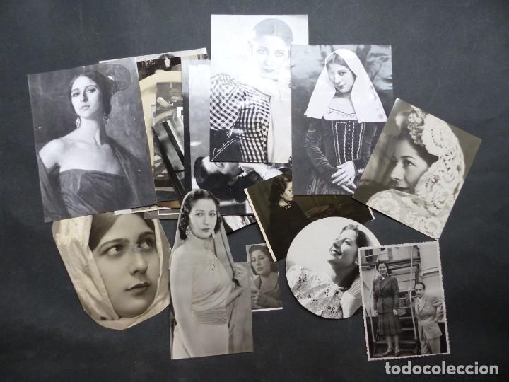 CONCHA PIQUER - 24 FOTOS ANTIGUAS DIFERENTES, AÑOS 1940-1960, VER FOTOS ADICIONALES (Música - Fotos y Postales de Cantantes)