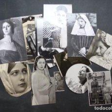 Fotos de Cantantes: CONCHA PIQUER - 24 FOTOS ANTIGUAS DIFERENTES, AÑOS 1940-1960, VER FOTOS ADICIONALES. Lote 287333193
