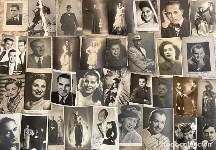 ARCHIVO DE 250 FOTOS FOTOGRAFÍA DE TEATRO ARTISTA ESPECTACULO DE BARCELONA TEATRAL AUTOGRAFO FIRMADA (Música - Fotos y Postales de Cantantes)