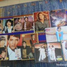 Fotos de Cantantes: 70 PÓSTER SUPER POP THE BEATLES ESVIS PRESLEY ABBA MECANO MIGUEL BOSÉ PECOS. FOTO DE TODO Y REGALO!!. Lote 288020503