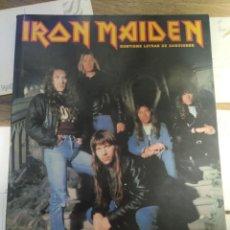 Fotos de Cantantes: BIOGRAFÍA IRON MAIDEN - IMÁGENES DEL ROCK - 1994. Lote 289556013