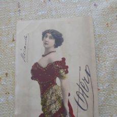 Fotos de Cantantes: BELLA OTERO POSTAL 9 X 13 CTMS.... Lote 291838948
