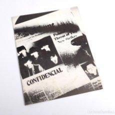 Fotos de Cantantes: FOLLETO DE PROMOCIÓN DEL DISCO SALTA DE TEQUILA. ZAFIRO. 1981. Lote 293362913