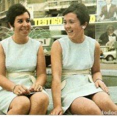 Fotos de Cantantes: POSTAL DISCOGRAFICA *ADELAIDA Y CONCHITA* - 1969. Lote 293915943
