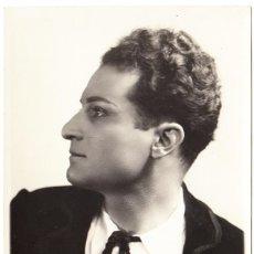 Fotos de Cantantes: RETRATO UMBERTO VALDARNINI CARACTERIZADO - V. HENRY (PARÍS) - TENOR - ÓPERA OPÉRA-COMIQUE. Lote 293943228