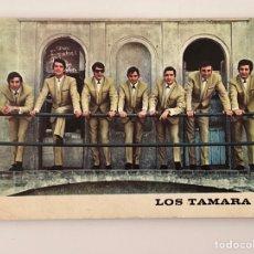 Fotos de Cantantes: LOS TAMARA, POSTAL PUBLICIDAD.. EXCLUSIVAMENTE EN DISCOS ZAFIRO (A.1965) DISCOGRÁFIA ANVERSO. Lote 295412773