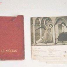 Libretos de ópera: LOS 3 DISCOS DEL MESIAS DE HAENDEL. Lote 27401995