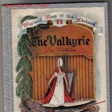 Libretos de ópera: THE VALKYRIE / ADAPTED BY R. LAWRENCE AND ILLUSTRED BY A. SEREBRIAKOFF. OPERA. Lote 22387570