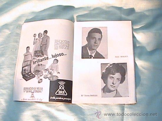 Libretos de ópera: PROGRAMA DE MANO DEL GRAN TEATRO DEL LICEO, TEMPORADA DE ÓPERA, INVIERNO 1961-1962 - Foto 2 - 25511763