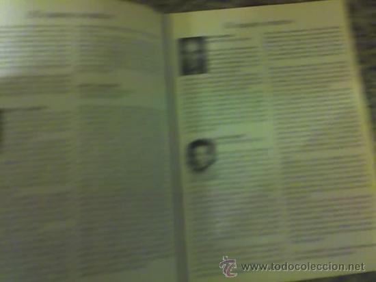 Libretos de ópera: PROGRAMA DEL MUSICAL LOS MISERABLES (Alain Boublil y C. M. Schonberg) - TEATRO OPERA - ARGENTINA - Foto 2 - 19374231