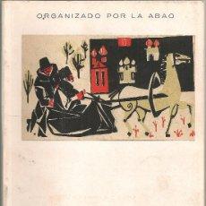 Libretos de ópera: VIII FESTIVAL DE OPERA A.B.A.O. 3 AL 15 SETIEMBRE 1959. BORIS GODUNOV / MUSSORGSKY. 21X15CM. 98 P.. Lote 21149390