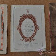 Libretos de ópera: LOTE DE 3 PROGRAMAS MUSICALES DEL LICEO. LICEU. TODOS DISTINTOS. 1928-29, 1950-51, HOMENAJE FRANCO.. Lote 22303308