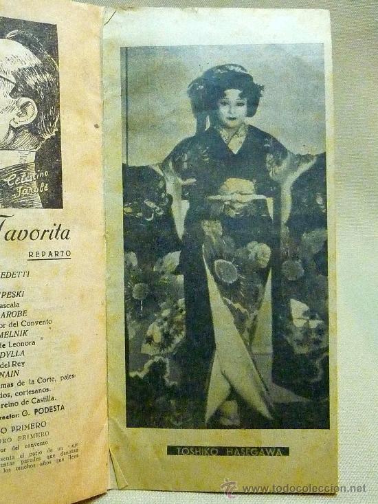 Libretos de ópera: PROGRAMA, TEATRO PRINCIPAL, VALENCIA, TEMPORADA OFICIAL DE OPERA ITALIANA, 1941 - Foto 4 - 24572619
