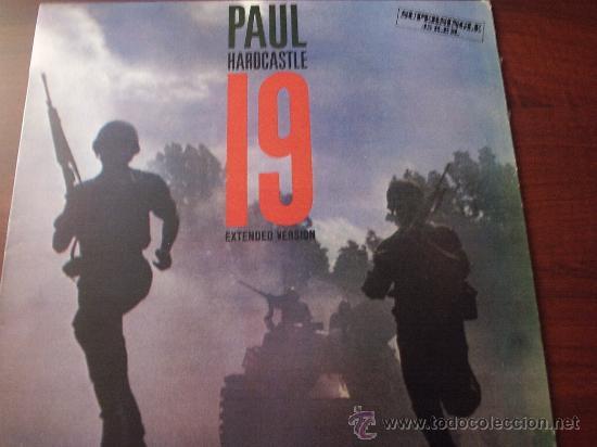 LP PAUL HARDCASTLE 19 EXTENDED VERSION 1985 CHRYSALIS RECORDS SUPERSINGLE 45 R.P.M. (Música - Libretos de Opera)