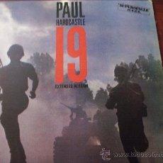 Libretos de ópera: LP PAUL HARDCASTLE 19 EXTENDED VERSION 1985 CHRYSALIS RECORDS SUPERSINGLE 45 R.P.M.. Lote 27652754