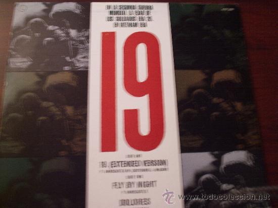 Libretos de ópera: LP PAUL HARDCASTLE 19 EXTENDED VERSION 1985 CHRYSALIS RECORDS SUPERSINGLE 45 R.P.M. - Foto 2 - 27652754