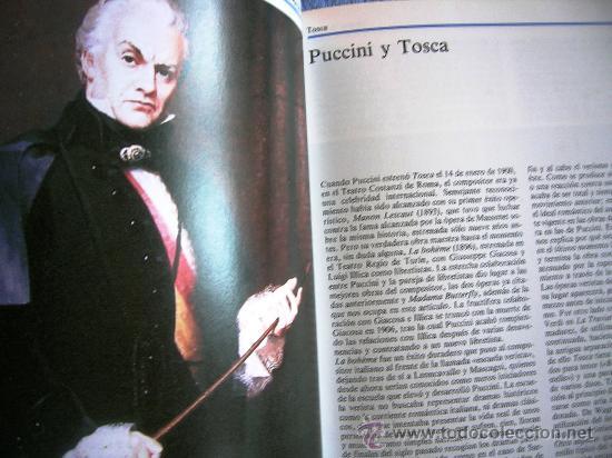 Libretos de ópera: TOSCA - PUCCINI. OPERA FAMOSAS. HISTORIA, CONTENIDO MUSICAL, SINOPSIS Y LIBRETO. - Foto 3 - 29141645