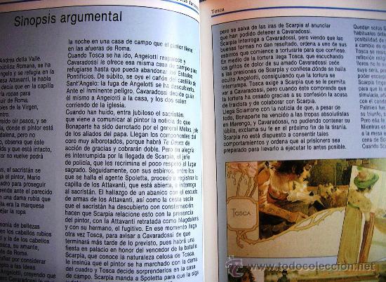 Libretos de ópera: TOSCA - PUCCINI. OPERA FAMOSAS. HISTORIA, CONTENIDO MUSICAL, SINOPSIS Y LIBRETO. - Foto 5 - 29141645